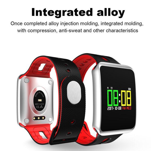 TFT Heartbeat 0.96'' Pressure Oxygen Monitor Bracelet Exercises Smart Wristband