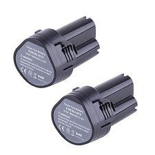 2X 10,8 Volt Li-ion per Makita BL1013 194551-4 194550-6 HK