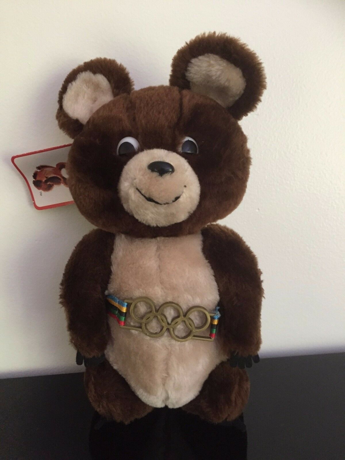 Dakin MISHA Bear Moscow Olympics 1979 1980 Mascot 11 inch Handcrafted with Tags