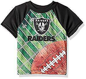 24b747201 Image is loading Oakland-Raiders-Infant-Boys-Field-T-Shirt