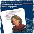 Werke Für Klarinette Und Orchester 5054196055622 by Weber CD