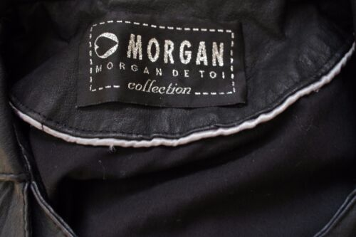Beskåret Asymmetrisk Læder De Collection Størrelse Jakke 40 Sort Toi Kvinder Morgan wXqYSxgOnn