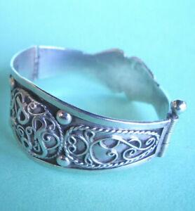 Raisonnable J296 / Petit Bracelet (fillette?) Argent Poinconne