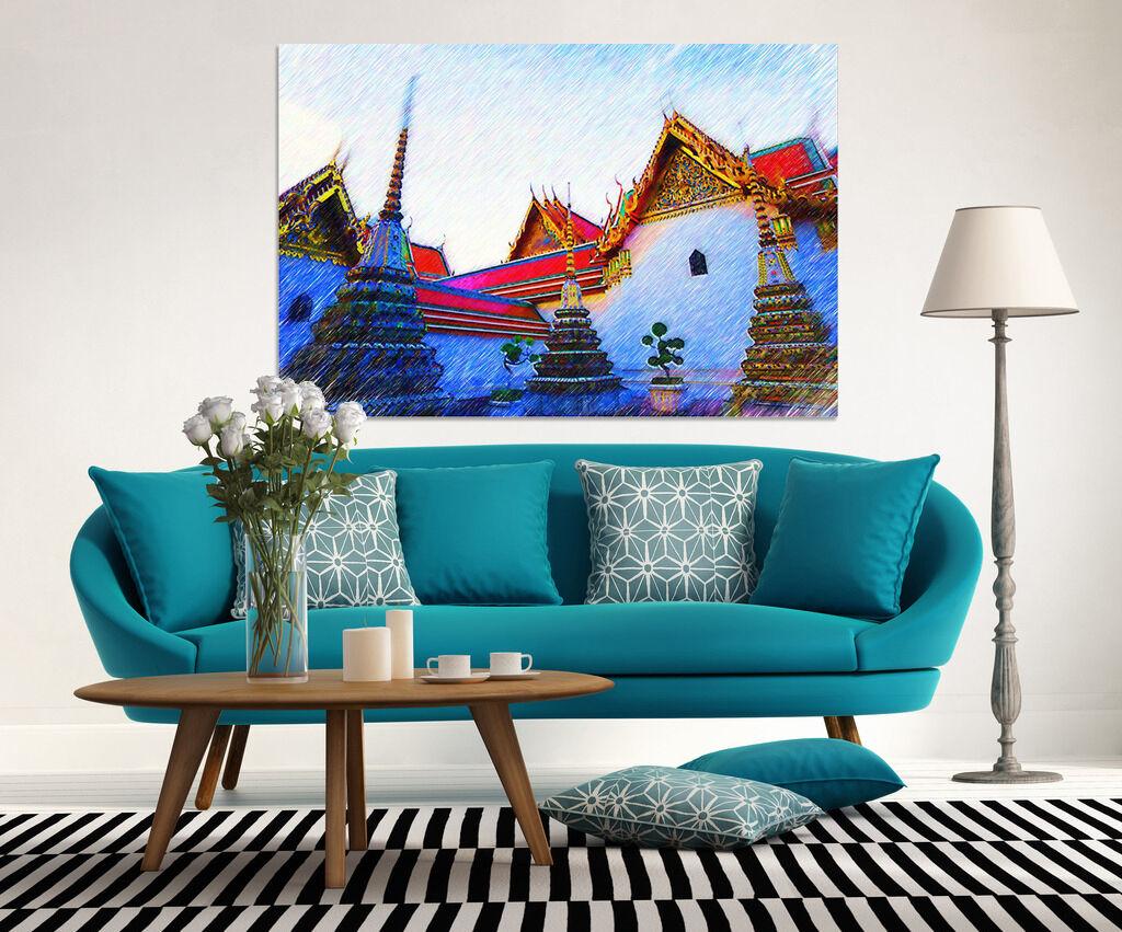 3D Farbiges Haus 208 Fototapeten Wandbild  BildTapete Familie AJSTORE DE