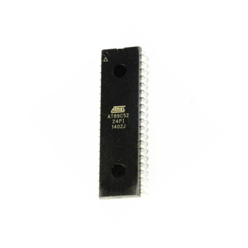 1PCS IC AT89C52-24PC AT89C52-24PI DIP-40  ATMEL  NEW