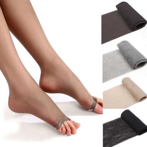 Women Sheer Ultra-Thin Tights Pantyhose Stockings Open Toe Pantyhose