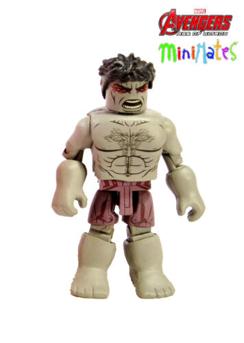 Marvel Avengers Age of Ultron Minimates série 63 saccagent tout Hulk loose /& COMPLET