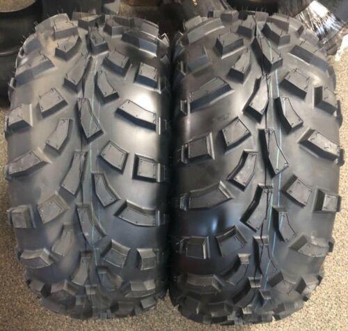 TWO NEW 25x11-12 KENDA K590 ATV //UTV TIRES pair replaces 25x10-12 POLARIS ETC