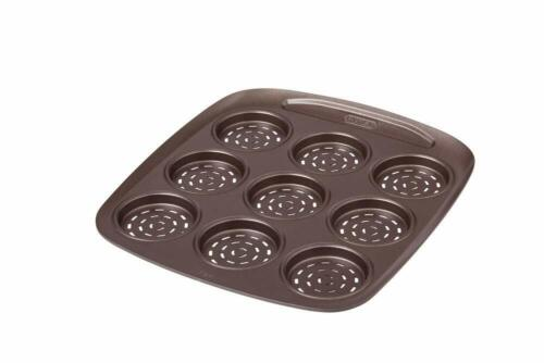 Plat à 9 Mini Pizza Avec Emporte Pièce en Acier Ø 6.50 cm Pyrex Asimetria Neuf