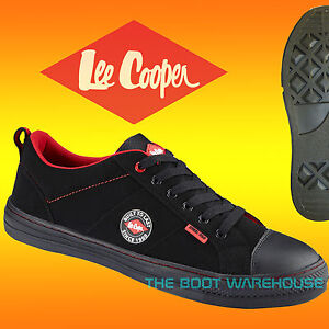 d81c33a7e940 MENS LEE COOPER LEATHER WOMEN SAFETY WORK BOOT STEEL TOE CAP SHOES ...