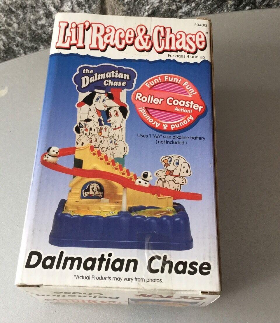 Jahrgang   1995 - yang spielzeug lil 'race & & 'race chase dalmathian   nib 9e609f