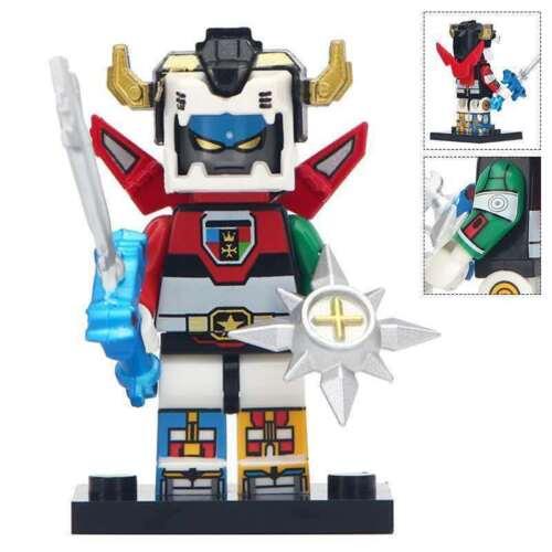 Voltron Legendary Defender Robot Manga Lego Moc Minifigure Japan Anime 80´s