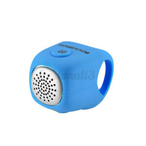 ROCKBROS-90db-Bike-Handlebar-Bell-Electric-Ring-Horns-Sound-Alarm-Safety-Blue