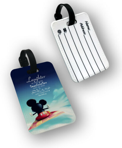 Laughter is Timeless Mickey Passport Wallet Travel Protection Flip Cover Case