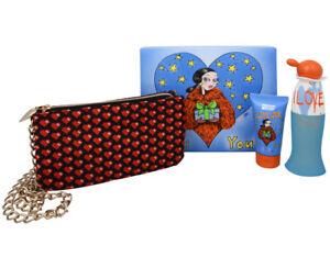Moschino Set - I love love 50ml Edt + 50ml B/L + Moschino Pouche
