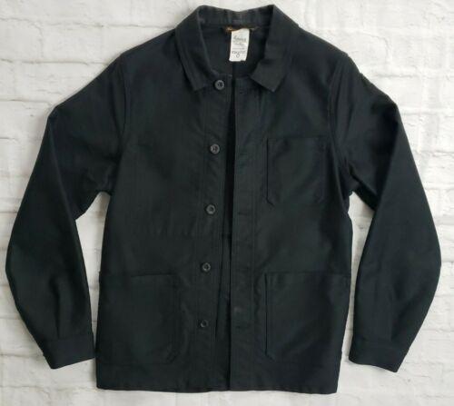 Le Laboureur Black Moleskin French Work Jacket/Cho