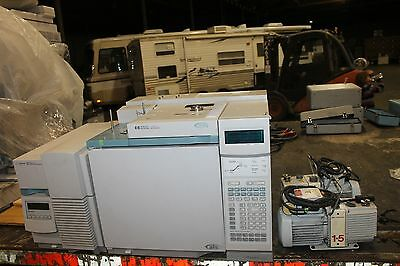 HP/AGILENT 6890 PLUS GC, 5973 MSD,GC/MS    VERY NICE SYSTEM WITH EDWARDS PUMPS