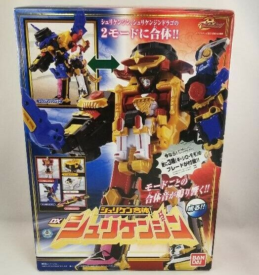 Bandai 2015 Power Ranger ninninger shurikenjin Megazord Dx Menta en caja