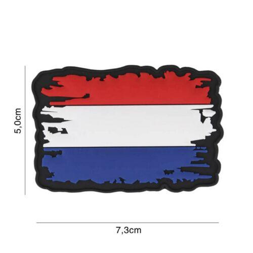 Niederlande vintage #7114 Patch Klett Aufnäher Airsoft Paintball Softair