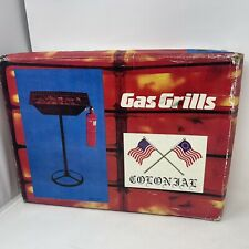 Vintage Colonial Stand Up Propane Grill Complete With Lava Rocks Portable