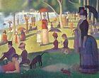 Seurat a Sunday on La Grande Jatte - 1884 Notecards With 17 Colored Envelo