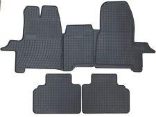 Gummifußmatten Gummimatten Fußmatten Ford Custom 1.- 3.Sitzreihe  von TN  2012 -