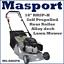 Masport-18-034-RRSP-H-Self-Propelled-Rear-Roller-Alloy-Deck-Lawnmower-2Yrs-Warranty thumbnail 3