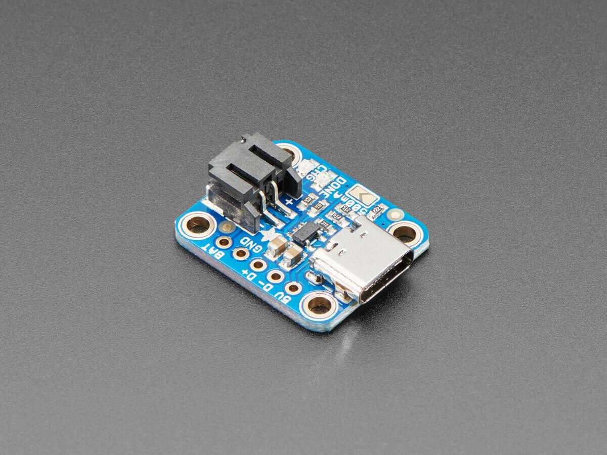 [3DMakerWorld] Adafruit Micro Lipo Charger for LiPoly Batt with USB Type C Jack