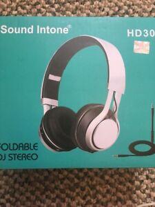 Sound-Intone-HD30-Headphones-w-Micro-Lightweight-Folding-For-Kids-Pink