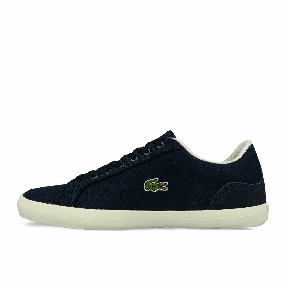 Lacoste Lerond 219 1 CMA Navy Off blanc Chaussures paniers Bleu Blanc