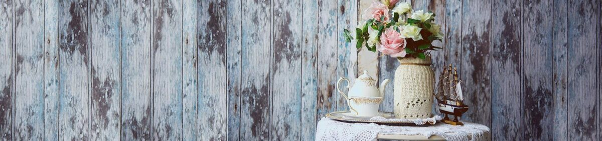 Shop event New Season Home Decor Trends From Shabby Chic to Skull Prints