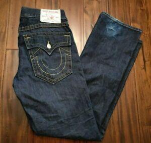 True-Religion-Ricky-Jeans-Men-039-s-34-Waist-34-Inseam