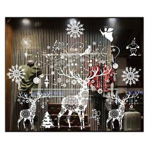 Adesivo-parete-di-Natale-Decorazioni-Natalizie-per-la-casa-Natale-Adesivo-Finestra-Z3M6