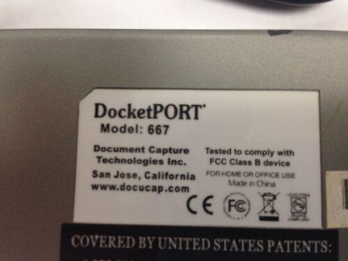 Ambir DocketPORT 667 ID Card Scanner DP667