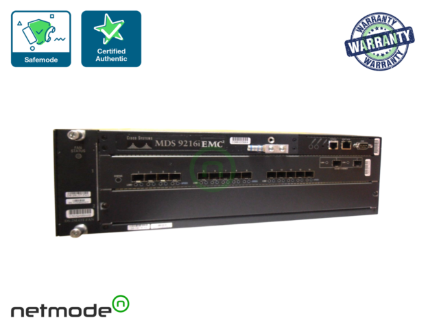 Cisco DS-C9216i-K9, 1 Year Warranty and Free Ground Shipping