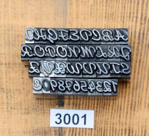 Bleisatz Letter Lettern Buchstaben Bleilettern Bleischrift 1 Set zur Auswahl