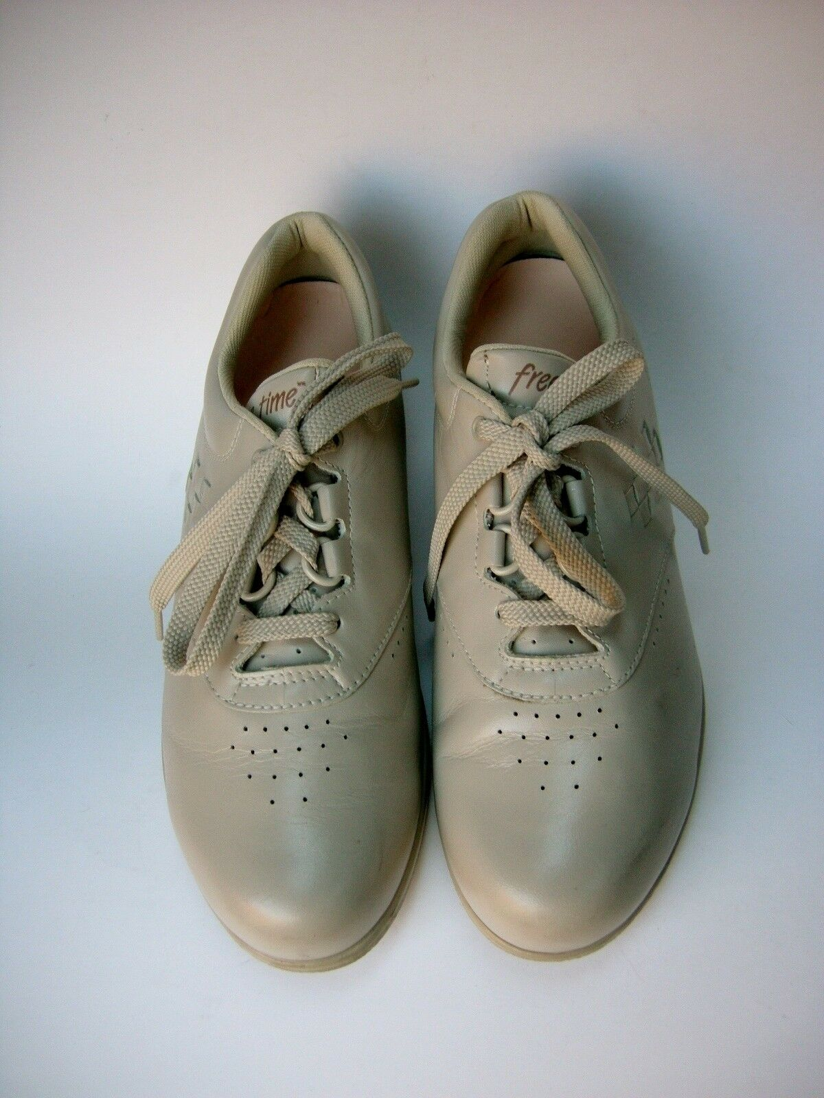 SAS Schuhes Beige Oxfords Lace Up Free Time USA Damenschuhe Gre 7.5 N