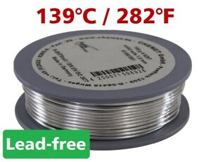 lead free solder wire melting temperature