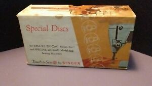 Vintage Singer Special Discs for Deluxe and Special Zig Zag models 600 and 603