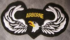 Genuine Military Patch US Army 101st Airborne Division With Wings