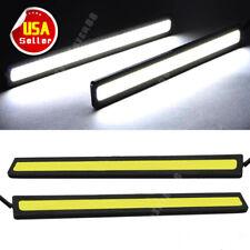 COB Xenon White 100 LED DRL Daytime Running Light Backup Interior Strip 12V 6W