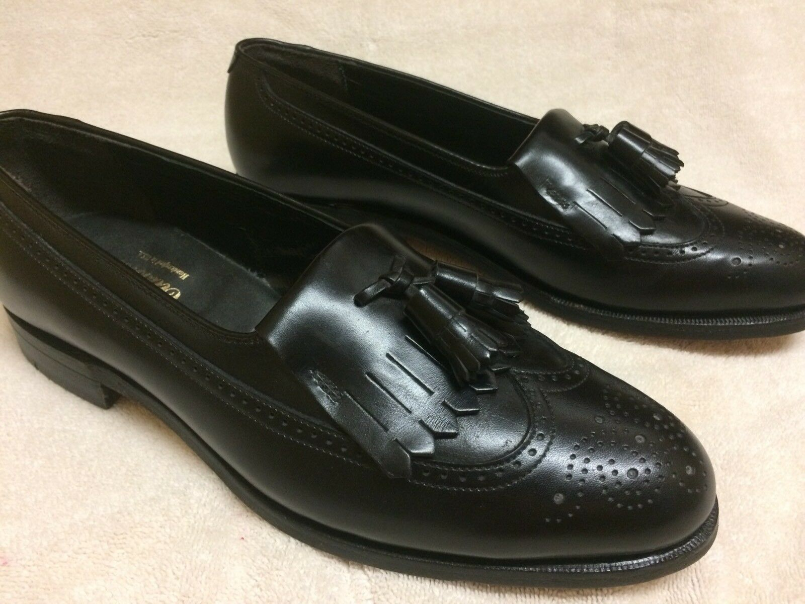 FOOTJOY CLASSICS Loafers - schwarz schwarz schwarz Sz 10.5 A Made in USA Excellent a7768a