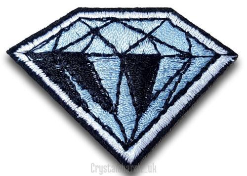 Diamond Gem Iron Sew On Patch Badge Applique Motif  *Buy 2 get 10/% off* UK