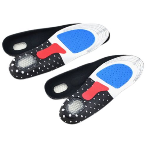 Orthotic Insoles Shoe Inserts Support Arch Pad Feet Leather Foot Cushion Unisex
