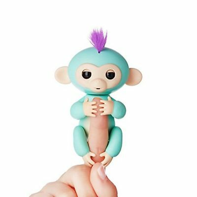 ZOE INTERACTIVE PET FINGER MONKEY FULL FUNCTION  REACTS TO TOUCH-SOUND+MORE NIB