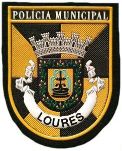 Portugal-Departamento-de-Policia-Municipal-se-oscurecen-ciudad-EB01113-Parche-Emblema-insignie