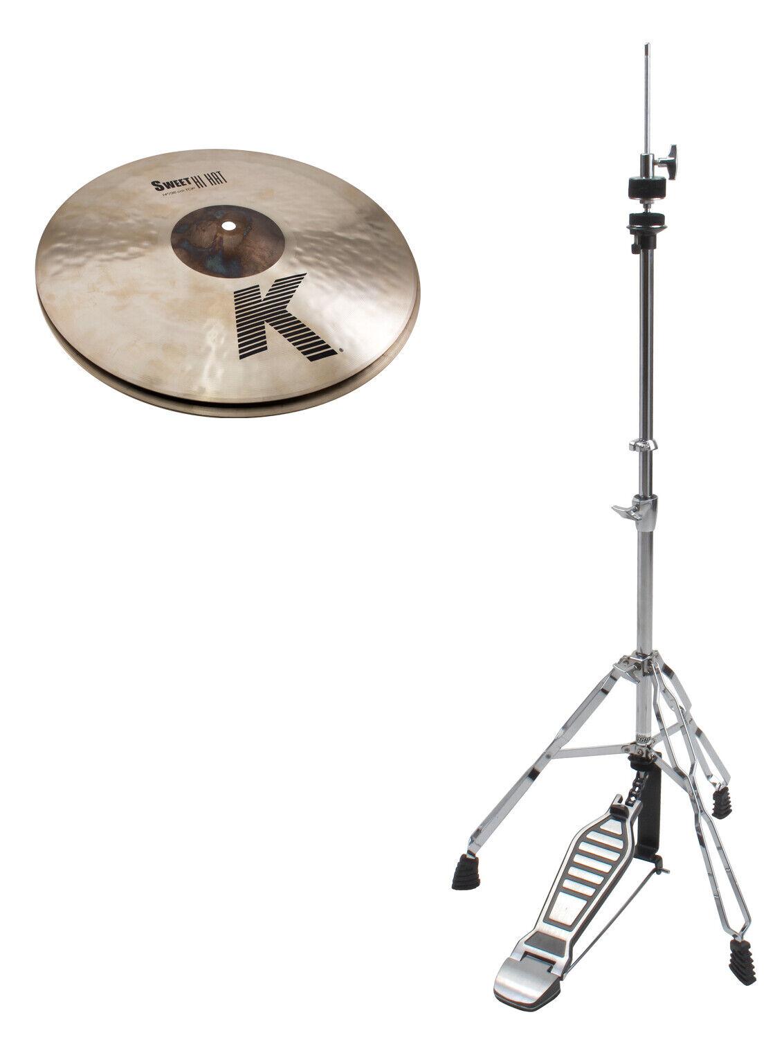 Zildjian 14  K Sweet Hi-Hat HiHat Mas ne Spar Set Becken Cymbal Schlagzeug