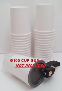 25pk 32oz Disposable Paper Cups for GelCoater GX1000 /& ES G100 Cup Gelcoat Gun