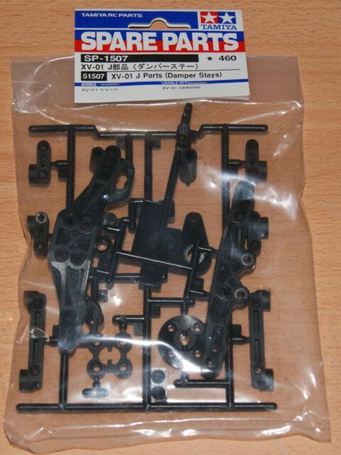 XV01//XV-01T//XV-01TC Tamiya 51507 XV-01 J Parts Damper Stays NIP