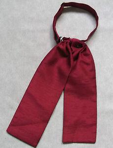 Sur De Soi Mariage Cravate Garçons Réglable Ascot Cravate Âge 4 - 12 Bordeaux Vin Rouge-afficher Le Titre D'origine